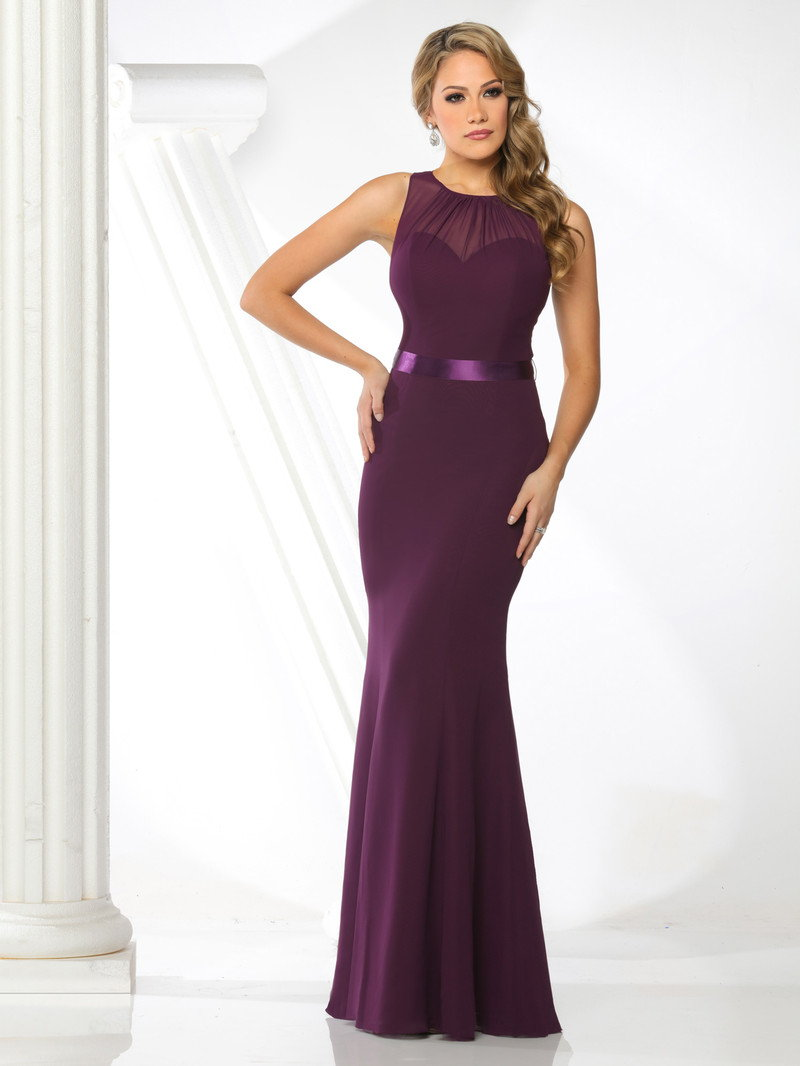Front View of DaVinci Bridesmaid Style #60295