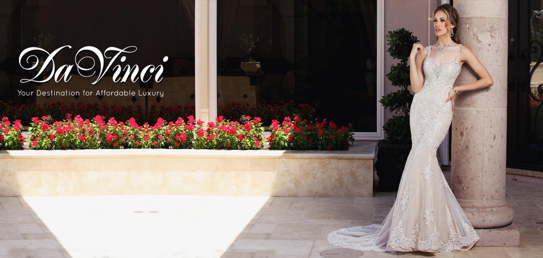 Wedding & Bridesmaid Dresses | DaVinci Bridal Collection