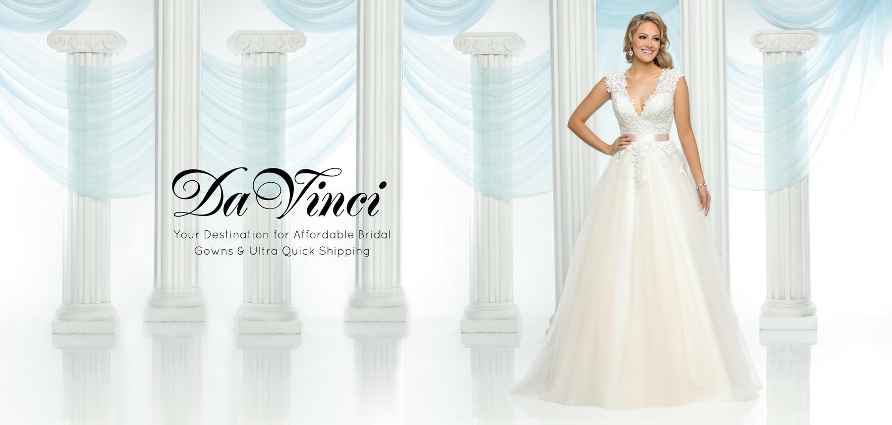 Wedding Bridesmaid Dresses DaVinci Bridal Collection
