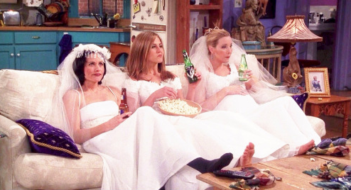 """From """"Friends,"""" via Tumblr"""
