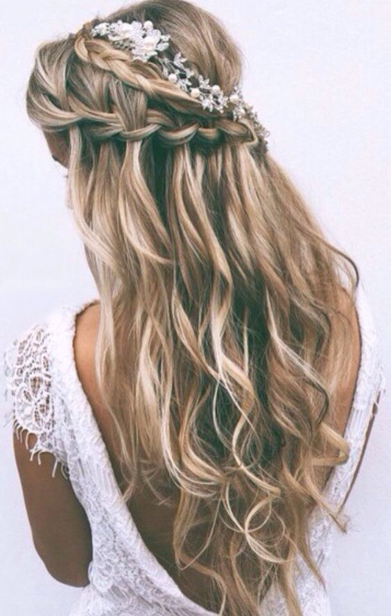 Pinterest Frisuren Konfirmation Modische Lange Frisuren