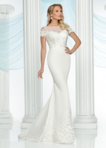 Wedding Dresses with Sleeves & Jackets Style #50421