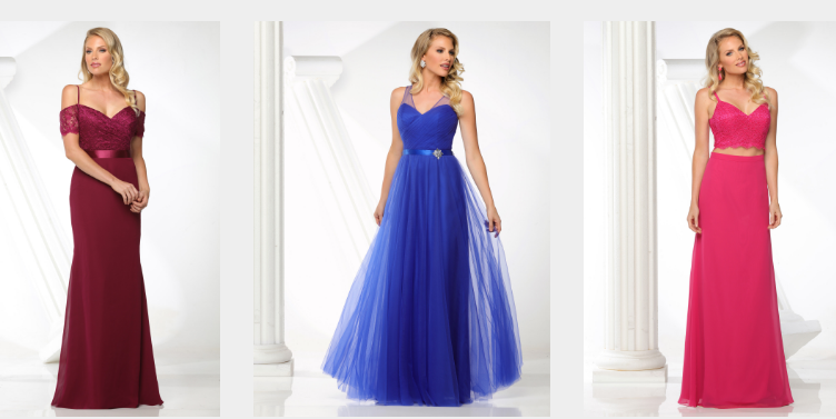 2017 Bridesmaids Gowns