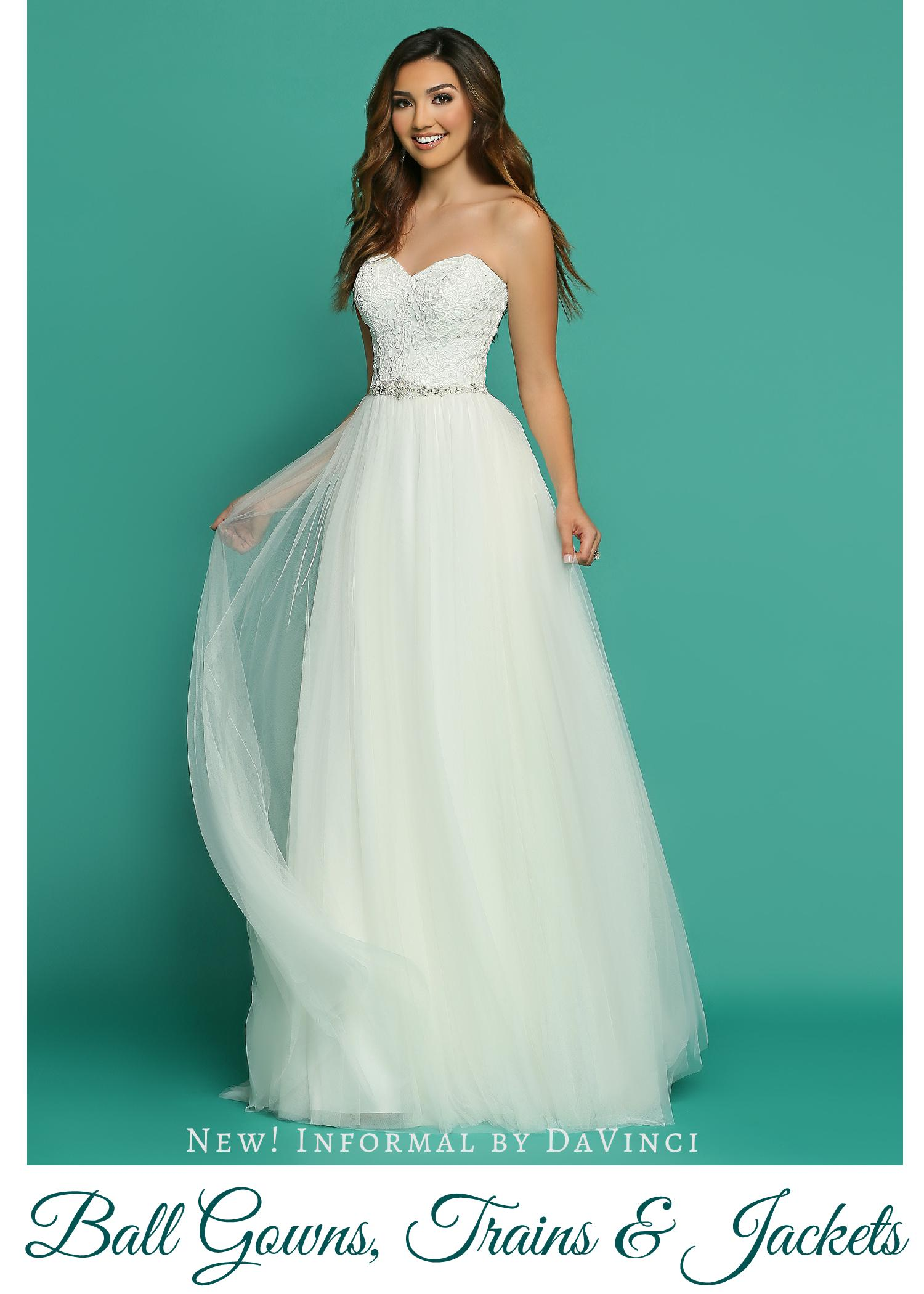 New! Wedding Dresses from Informal by DaVinci_ Beautiful Ball Gowns ...