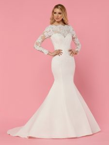 Wedding Dresses with Sleeves & Jackets Style #50460