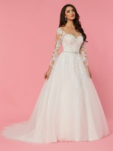 Wedding Dresses with Sleeves & Jackets Style #50470