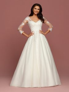 Wedding Dresses with Sleeves & Jackets Style #50492