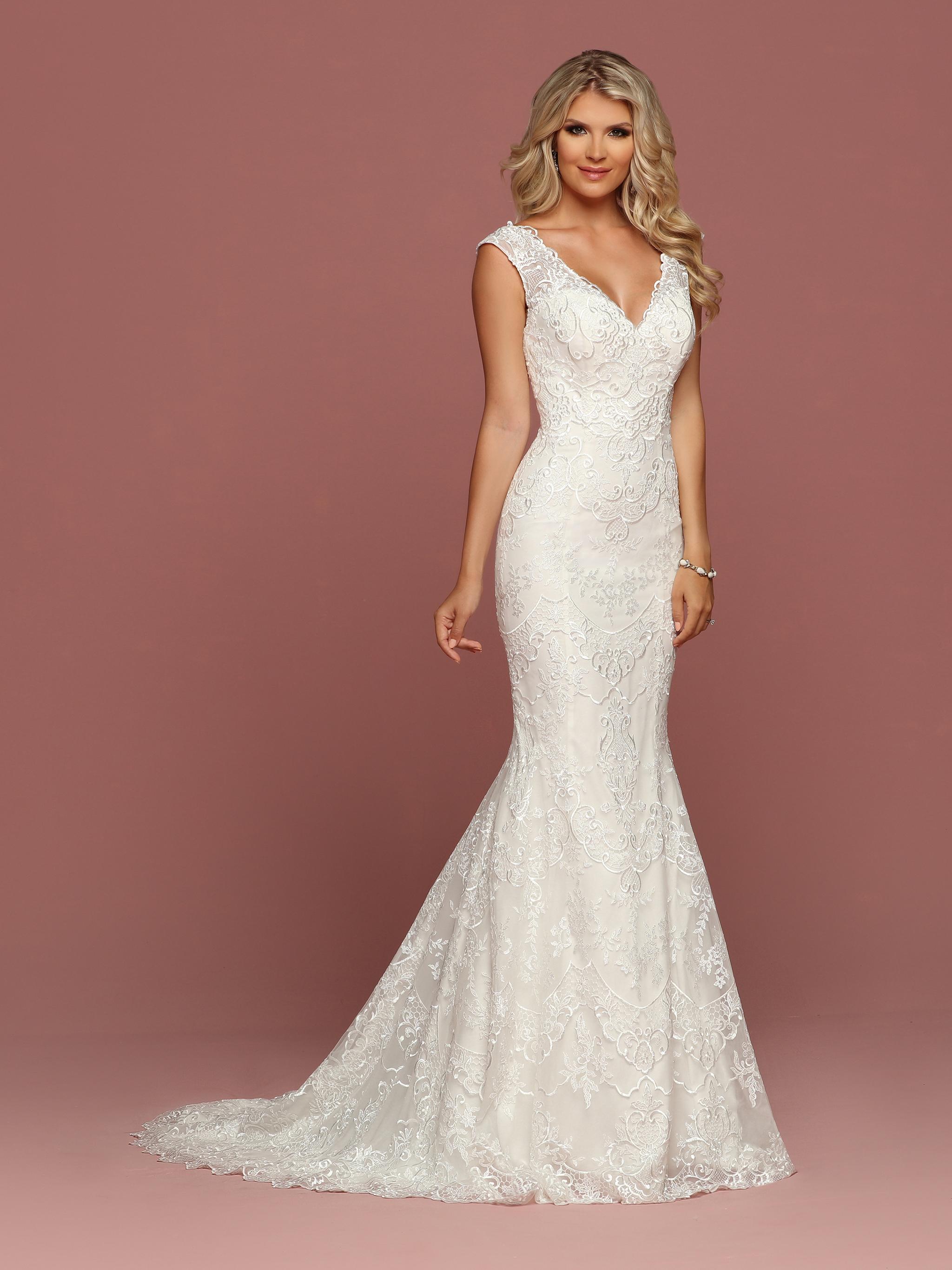 DaVinci Bridal Style #50507 - Front View