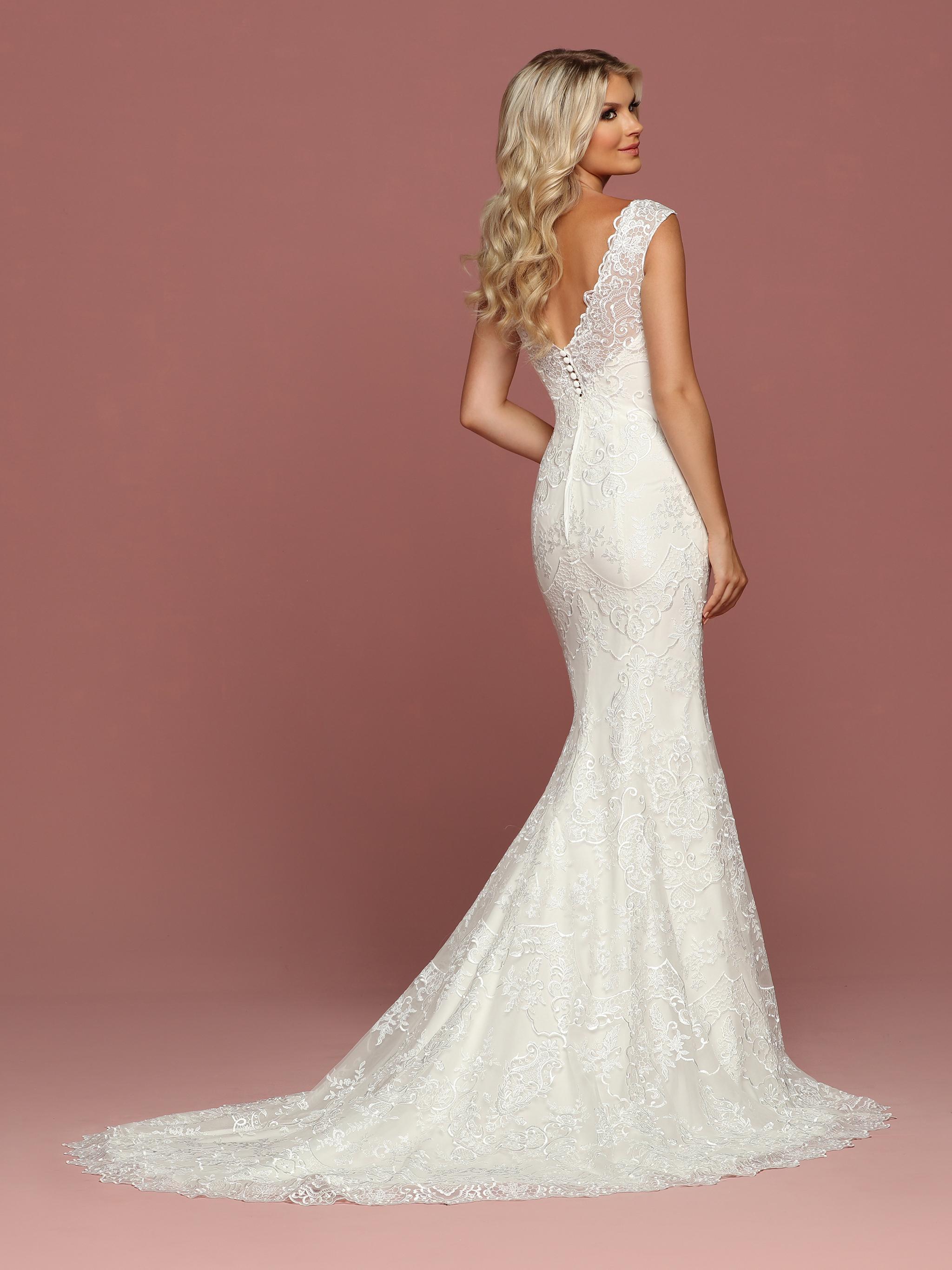 DaVinci Bridal Style #50507 - Back View