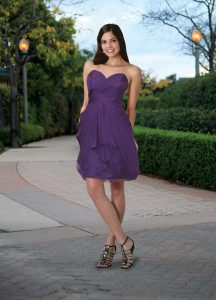 Strapless Bridesmaids Dress Style #60027