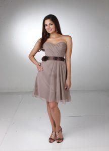 Strapless Bridesmaids Dress Style #60066