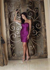 Strapless Bridesmaids Dress Style #60112