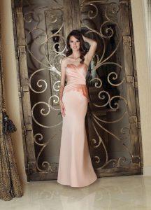 Strapless Bridesmaids Dress Style #60129