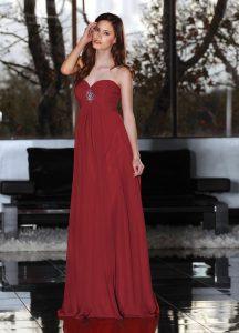 Strapless Bridesmaids Dress Style #60139