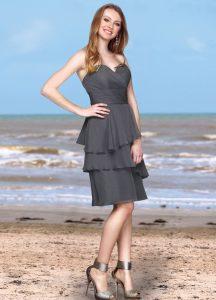 Strapless Bridesmaids Dress Style #60173