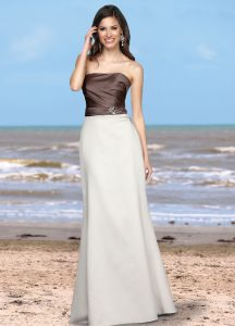 Strapless Bridesmaids Dress Style #60176