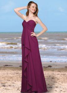 Strapless Bridesmaids Dress Style #60182