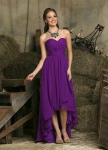 Strapless Bridesmaids Dress Style #60224