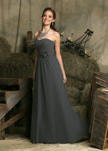Strapless Bridesmaids Dress Style #60228