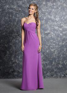 Strapless Bridesmaids Dress Style #60232