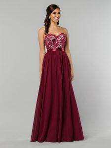 Strapless Bridesmaids Dress Style #60319