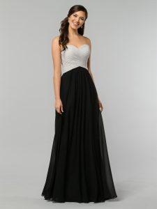 Strapless Bridesmaids Dress Style #60324
