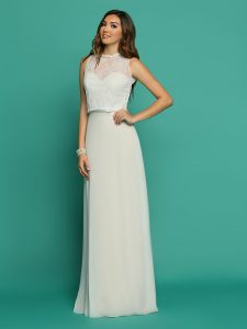 Wedding Dresses with Sleeves & Jackets Style #F7072