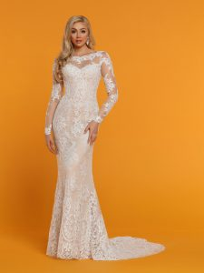 Wedding Dresses with Sleeves & Jackets Style #50516