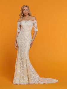 Wedding Dresses with Sleeves & Jackets Style #50529