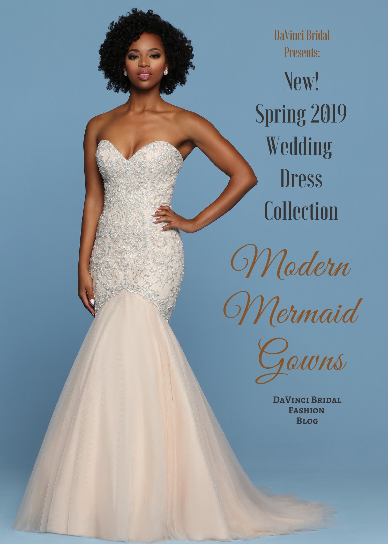 5793e8953ec87 Wedding Gowns for 2019 Modern Mermaid Wedding Dress Collection