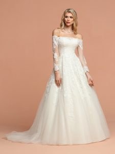 Wedding Dresses with Sleeves & Jackets Style #50577
