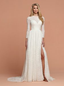 Wedding Dresses with Sleeves & Jackets Style #50596