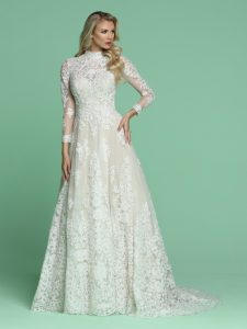 Wedding Dresses with Sleeves & Jackets Style #50607