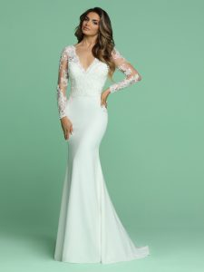 Wedding Dresses with Sleeves & Jackets Style #50610