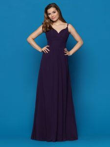 Strappy Back Bridesmaids Dresses