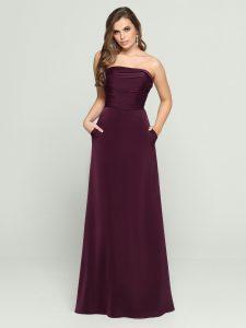 Strapless Bridesmaids Dress Style #60467