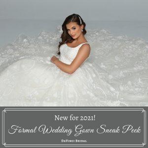 Formal Wedding Gown Sneak Peek