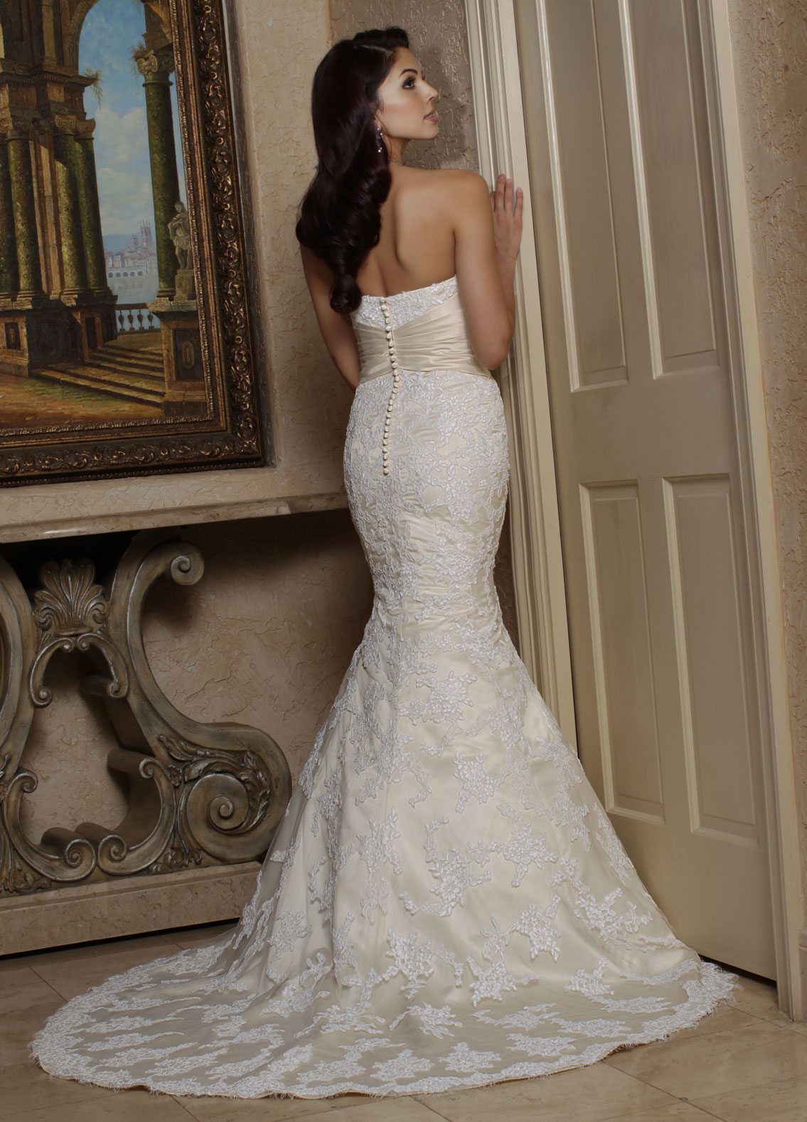 Back view of Style : 50161