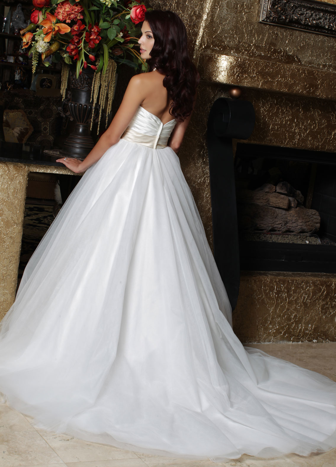 Back view of Style : 50163