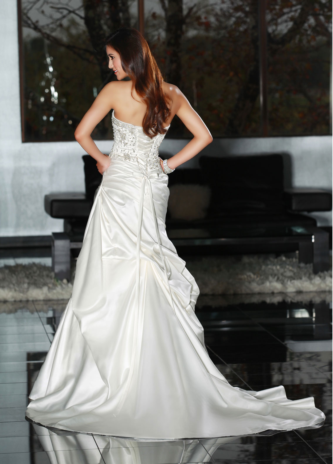 Back view of Style : 50217