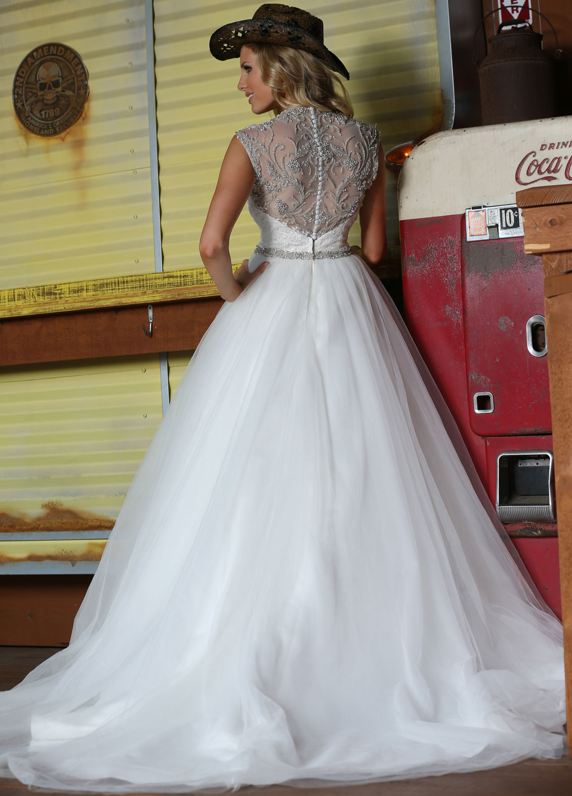 Back view of Style : 50296