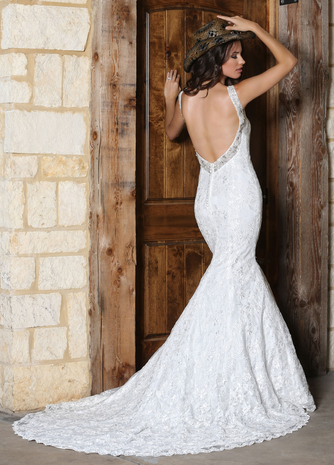 Back view of Style : 50301