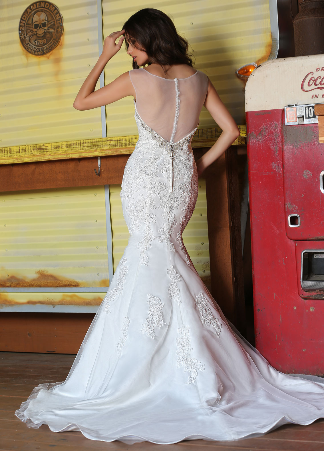 Back view of Style : 50309