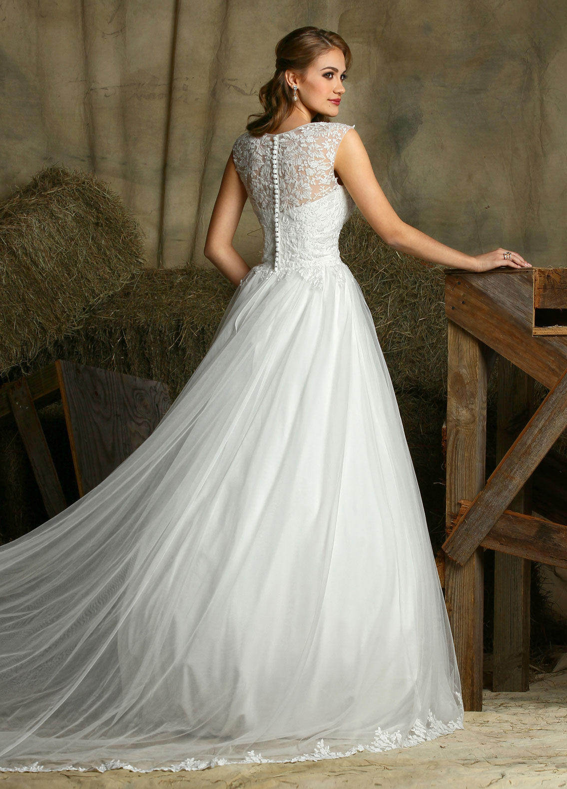 Back view of Style : 50323