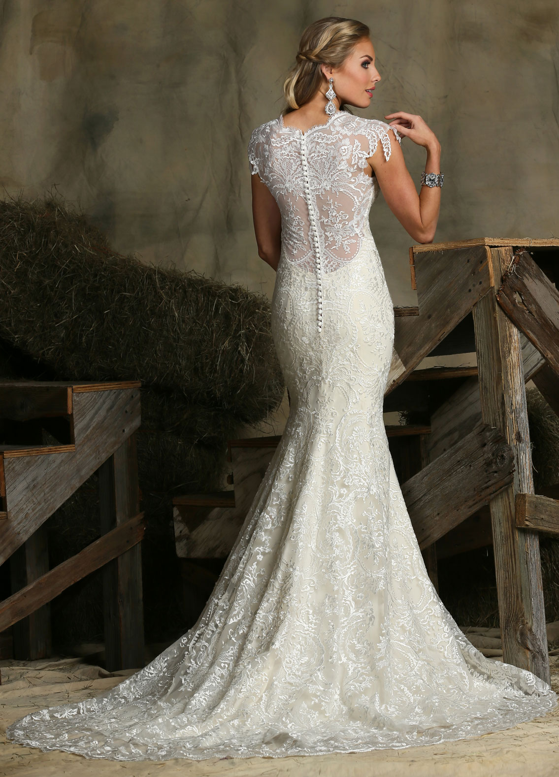 Back view of Style : 50329