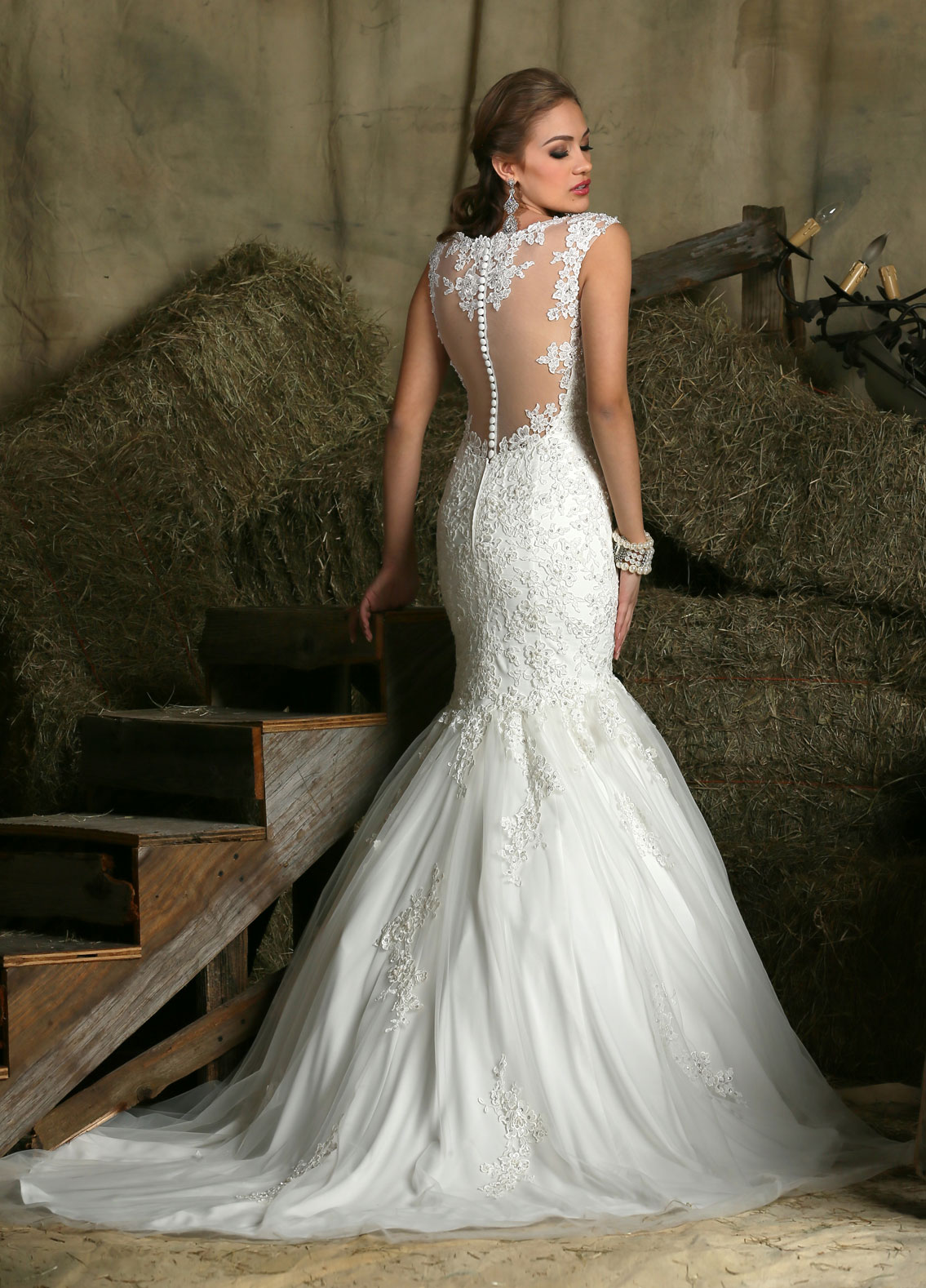 Back view of Style : 50330