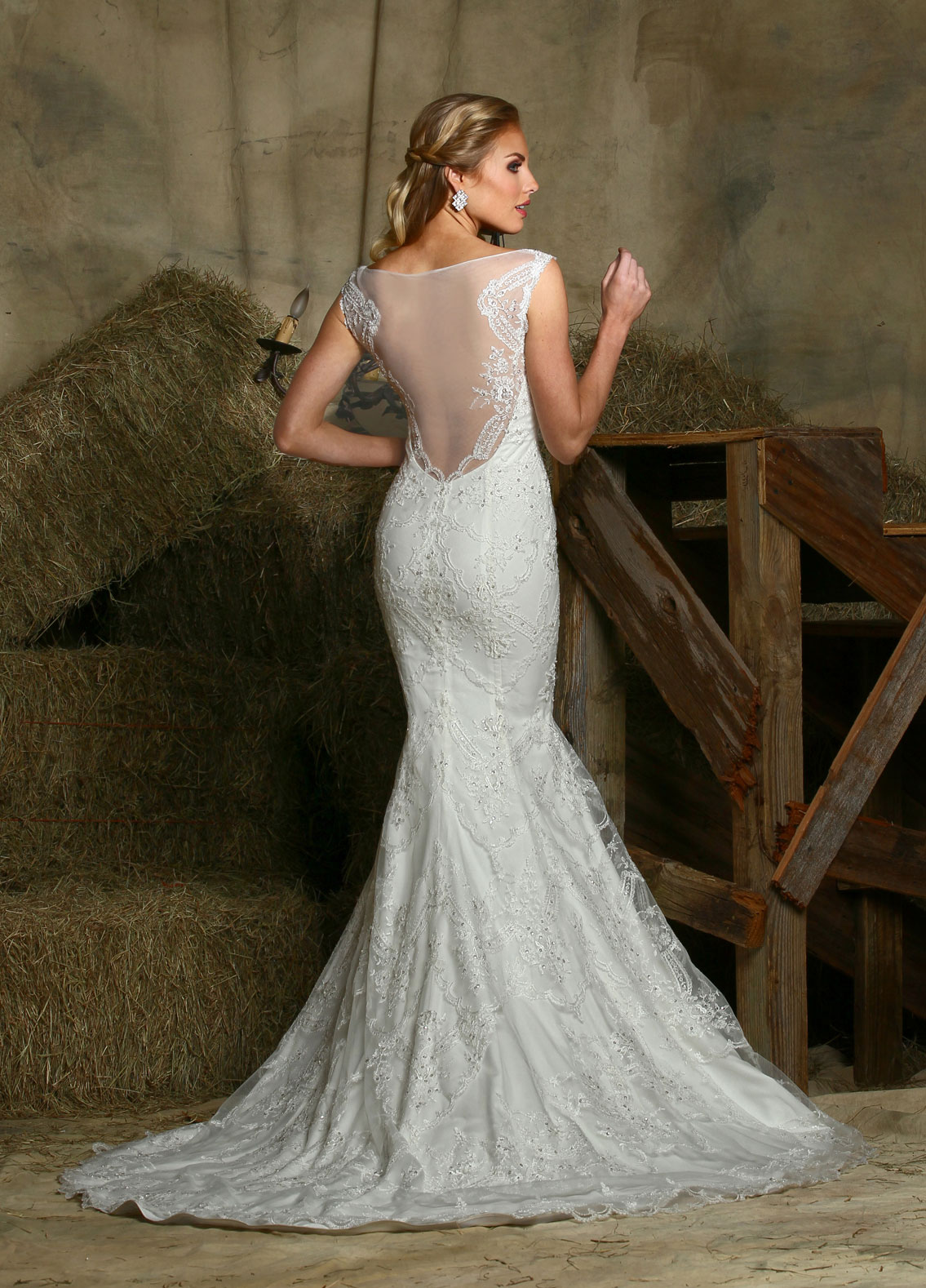 Back view of Style : 50338