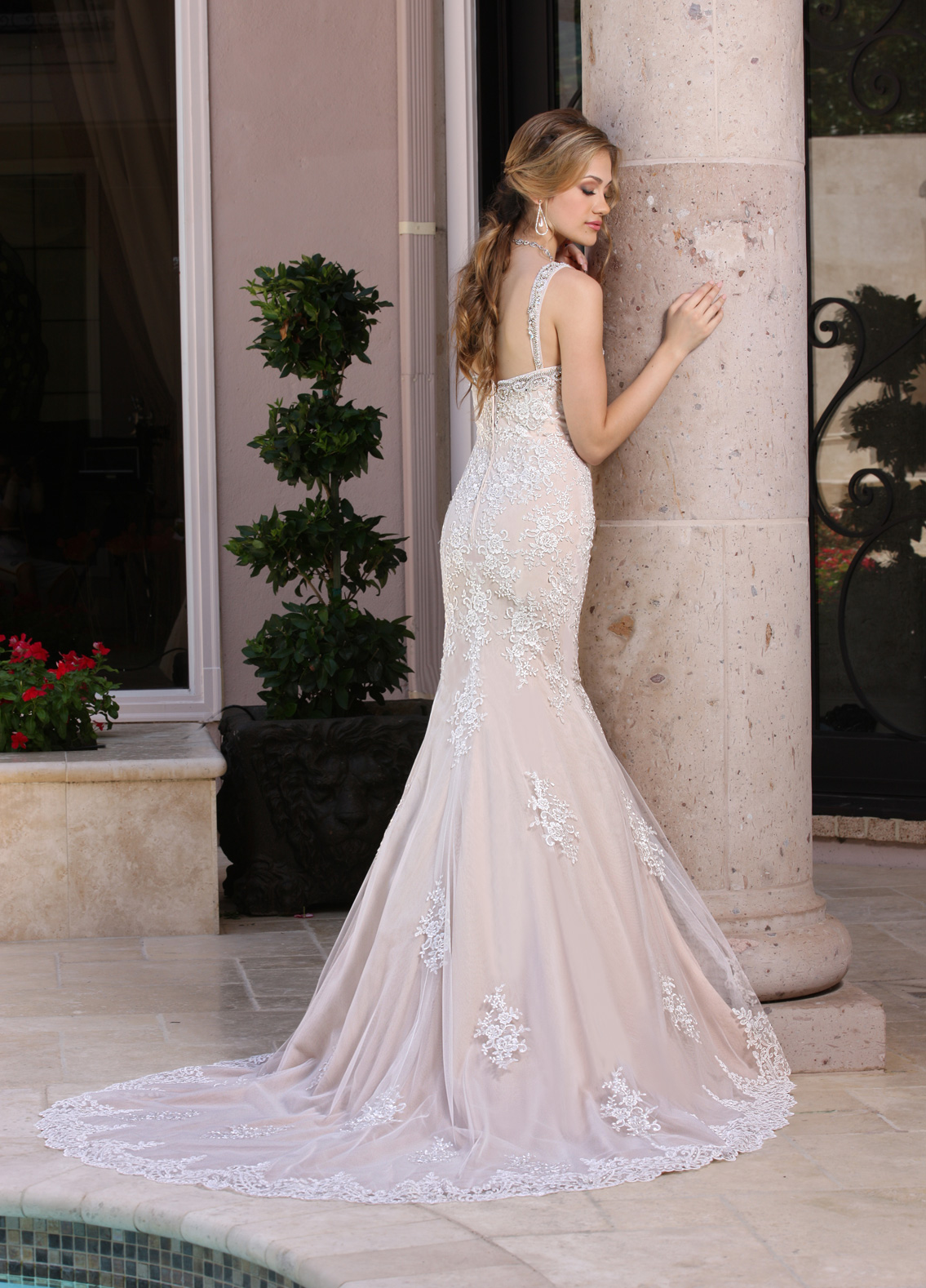 Back view of Style : 50353