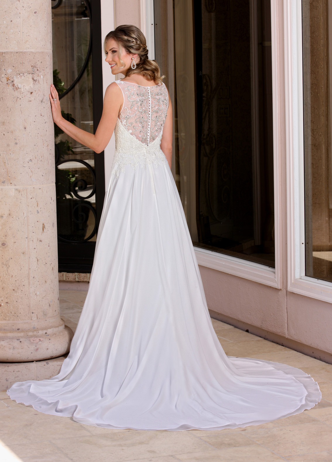 Back view of Style : 50362