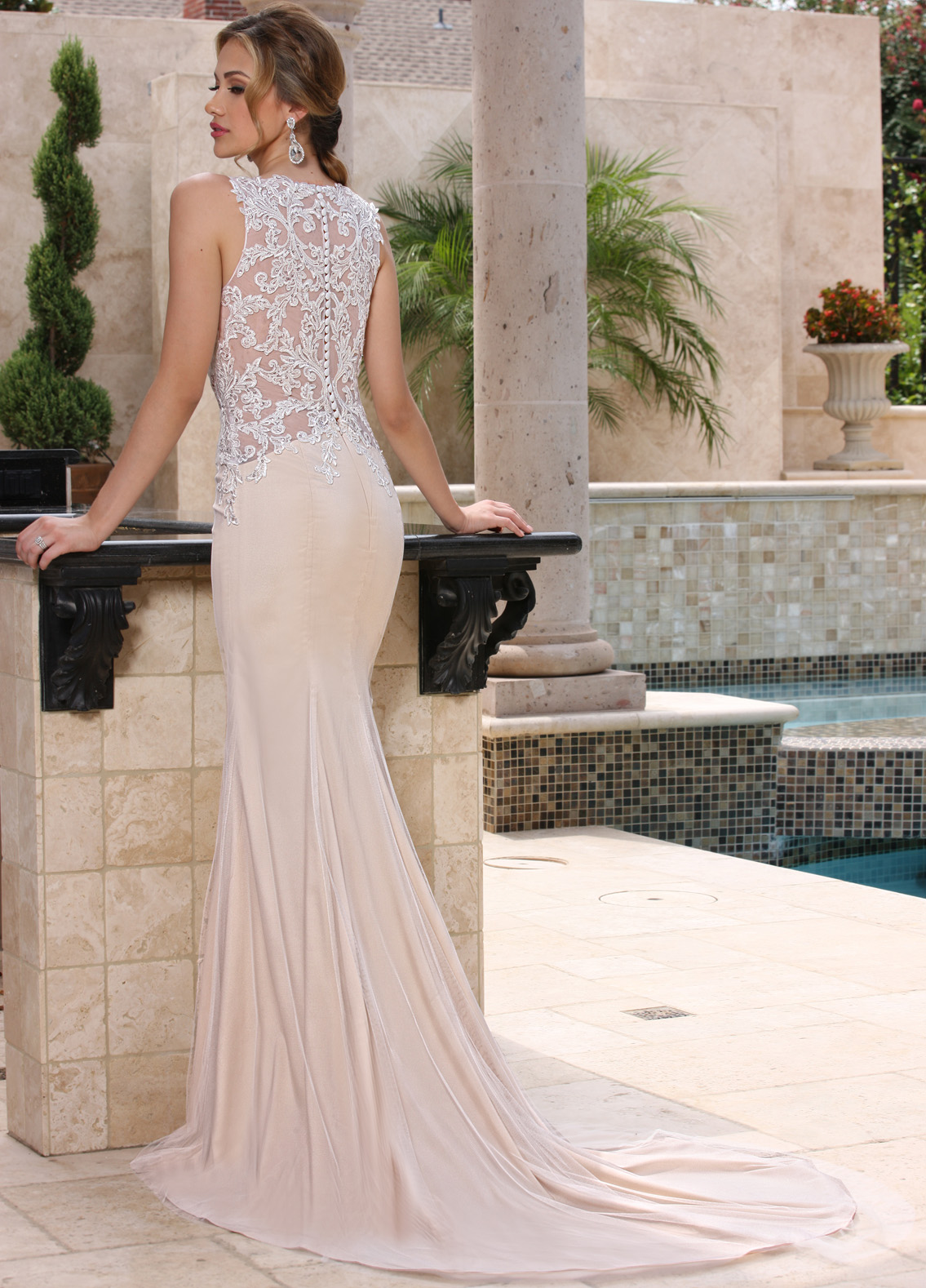 Back view of Style : 50371
